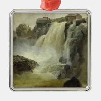 Haugfoss in Norway, 1827 Christmas Ornament