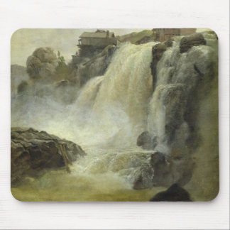 Haugfoss in Norway, 1827 Mouse Mat