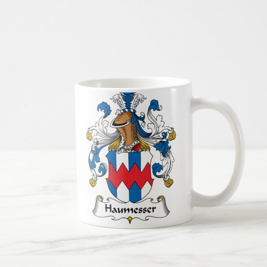 Haumesser Family Crest Coffee Mug