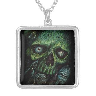 Haunted Attraction Skulls Ghosts Vintage Necklaces