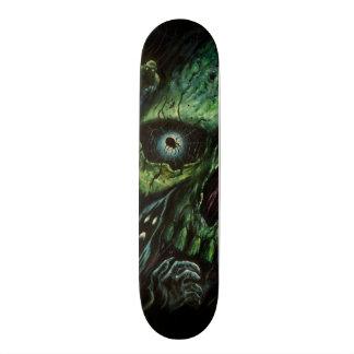 Haunted Attraction Skulls Ghosts Vintage Skate Board