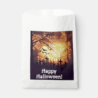 Haunted Cemetery Favors Bags Favour Bags