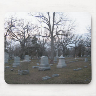 Haunted Cemetery Mouse Pad