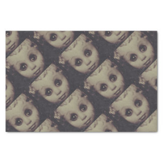 haunted doll gift wrap tissue paper