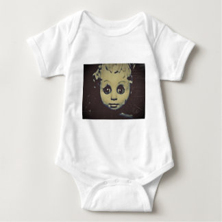 haunted doll products baby bodysuit