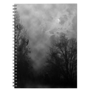 Haunted Gothic Sky Notebook