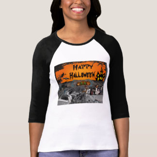 Haunted Halloween Drive-in T-Shirt