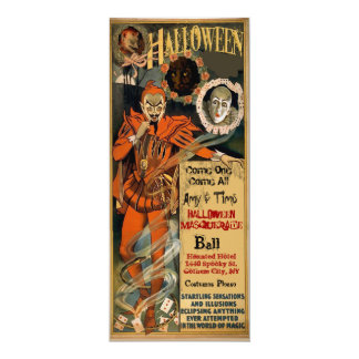 Haunted Halloween Party Invitations