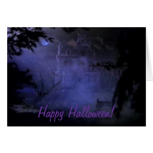Haunted Hill House Card