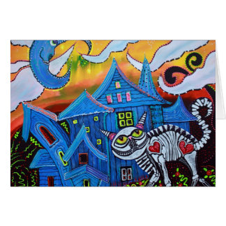 Haunted Hollow Greeting Card