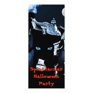 Haunted house Halloween party 10 Cm X 24 Cm Invitation Card