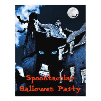 Haunted house Halloween party 11 Cm X 14 Cm Invitation Card