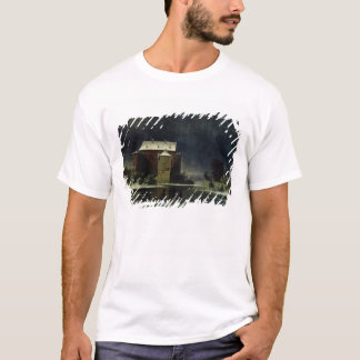 Haunted House in the Snow, 1848 T-Shirt
