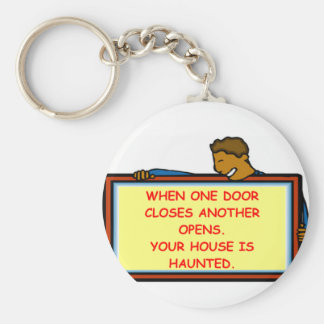 haunted house keychains