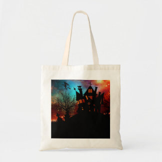 Haunted House on a Hill Tote Bag
