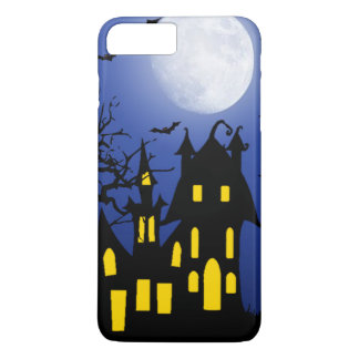 Haunted House on a Scary Night iPhone 7 Plus Case