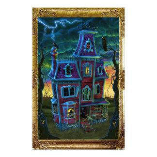 Haunted House Portrait Flyer