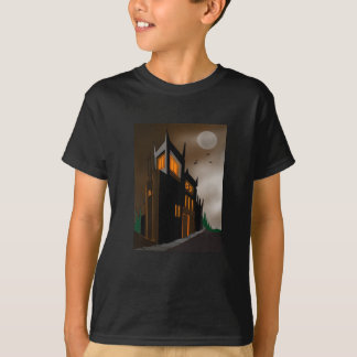 Haunted House T-Shirt for Kids