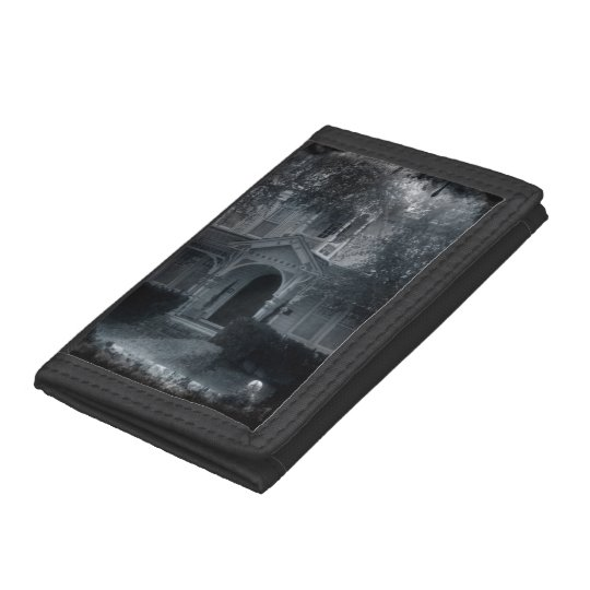 Haunted House Tri-fold Wallet