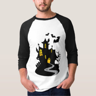 Haunted House with Bats T-Shirt