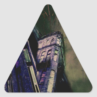 Haunted Mansion Triangle Sticker