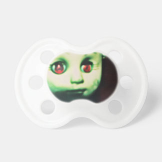 haunted red eyed doll products baby pacifier