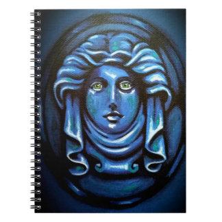 Haunted Statue Notebook