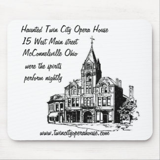 Haunted Twin City opera House mouse pad