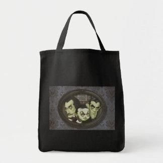 Haunted Zombie Ghastly Trio Tote Bag