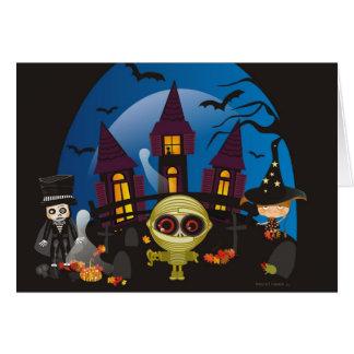Haunting Halloween Nights Card