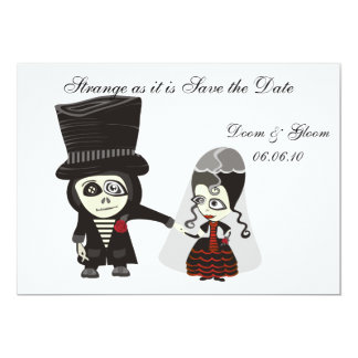 Haunting Save the Date Card