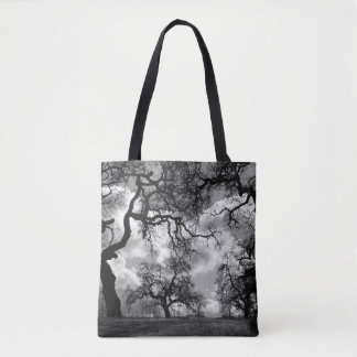 Haunting Tree Photo Tote Bag