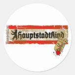 Hauptstadtkind Respektlos Berlin Germany Stickers