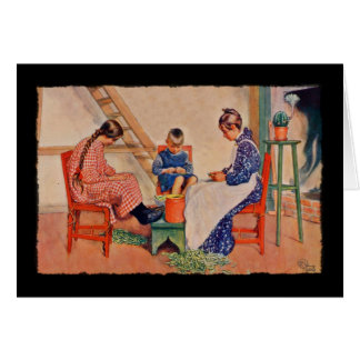 Haus der Sonne 1909 Greeting Card