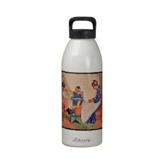 Haus der Sonne 1909 Water Bottle