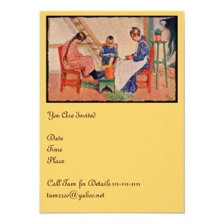 """Haus der Sonne 5"""" X 7"""" Invitation Card"""