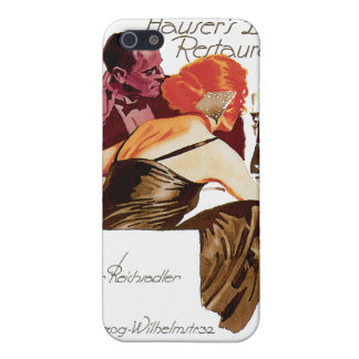 Hauser s Bar Restaurant Vintage Food Ad Art iPhone 5 Covers
