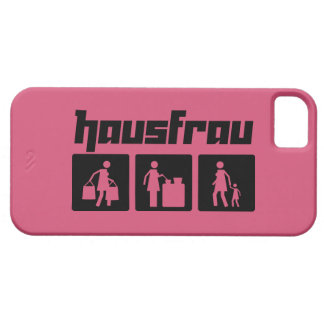 Hausfrau 2 iPhone 5 case