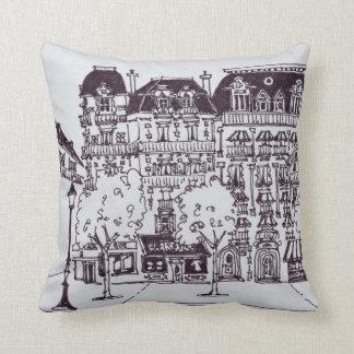 Haussmann Architecture | Champs Elysees Cushion