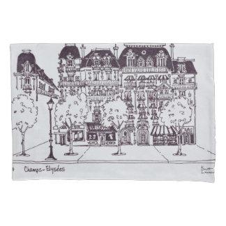 Haussmann Architecture | Champs Elysees Pillowcase