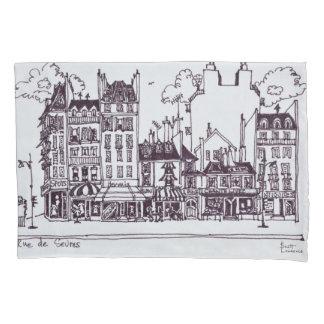 Haussmann Architecture | Rue de Sevres Pillowcase