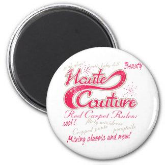 Haute Couture 6 Cm Round Magnet