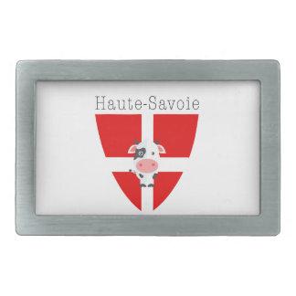 Haute-Savoie Cow Belt Buckle