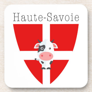 Haute-Savoie Cow Coaster Set