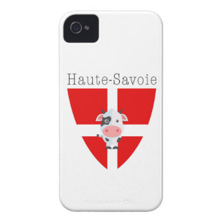 Haute-Savoie Cow iPhone4 Barely There Case