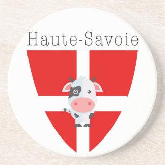 Haute-Savoie Cow Sandstone Coasters