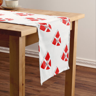 Haute-Savoie Cow Table Runner