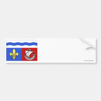 Hauts-de-Seine flag Bumper Sticker