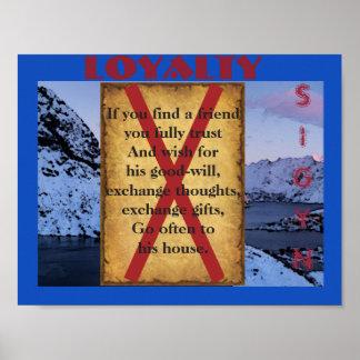 Havamal Loyalty Poster