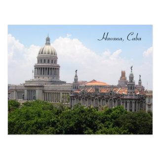 havana capitolio post cards